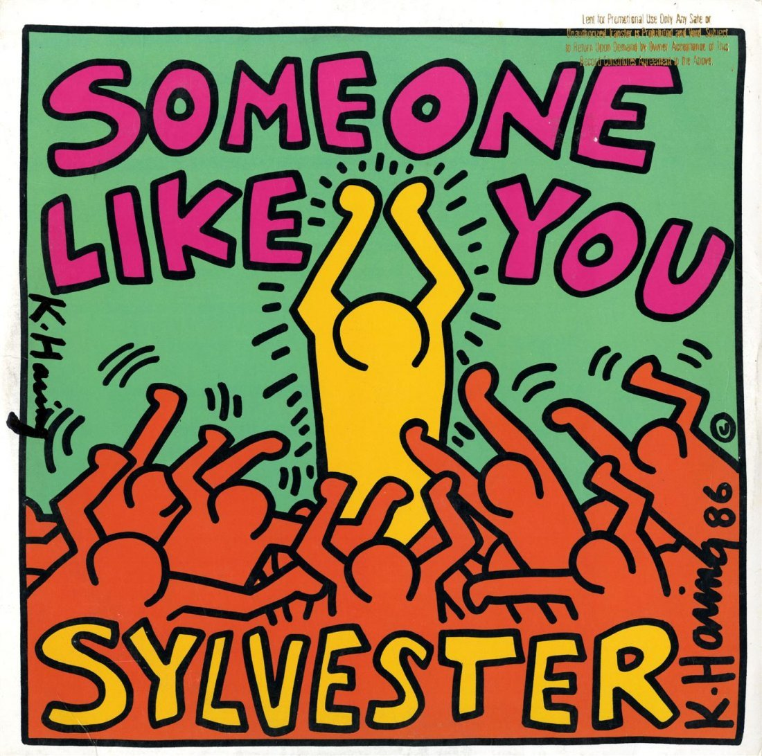 784: KEITH HARING - Original color offset lithograph