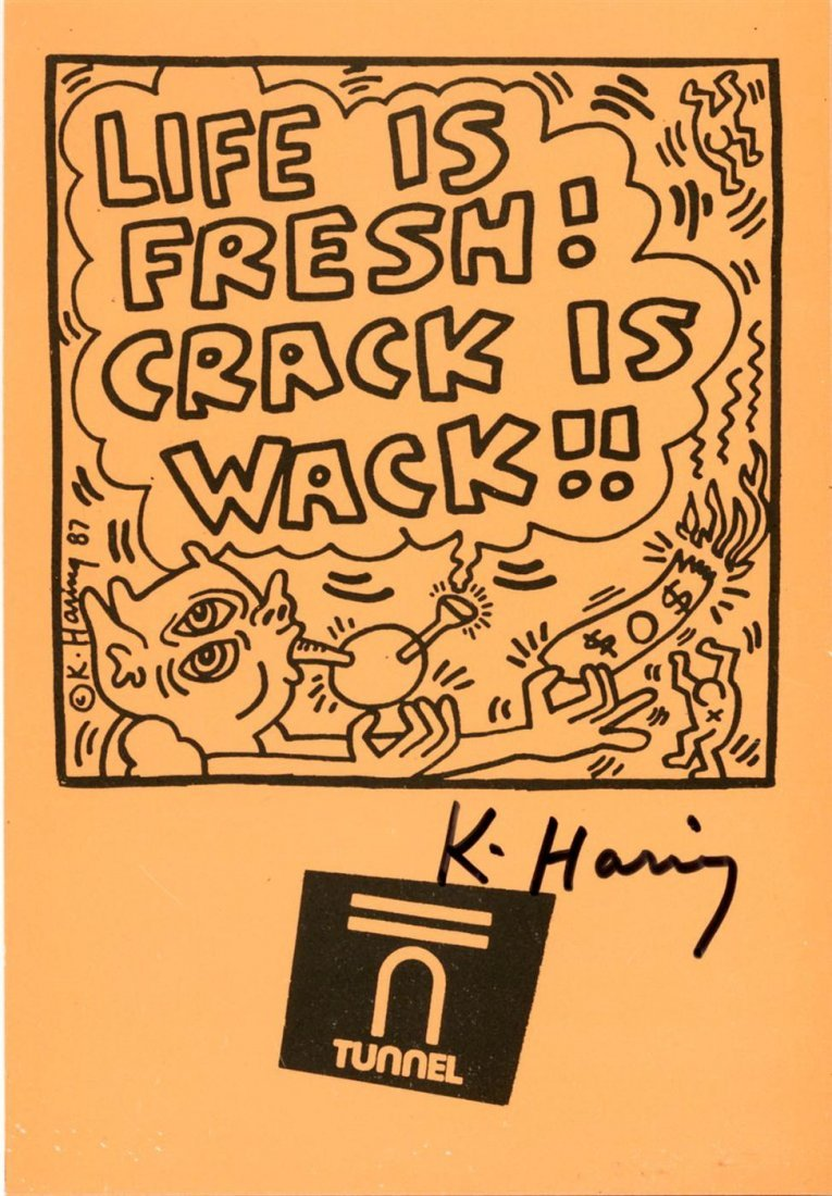 766: KEITH HARING - Offset lithograph