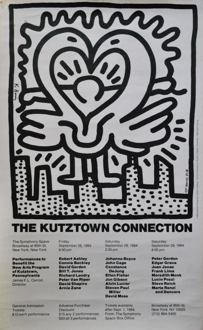 776: KEITH HARING - Offset lithograph