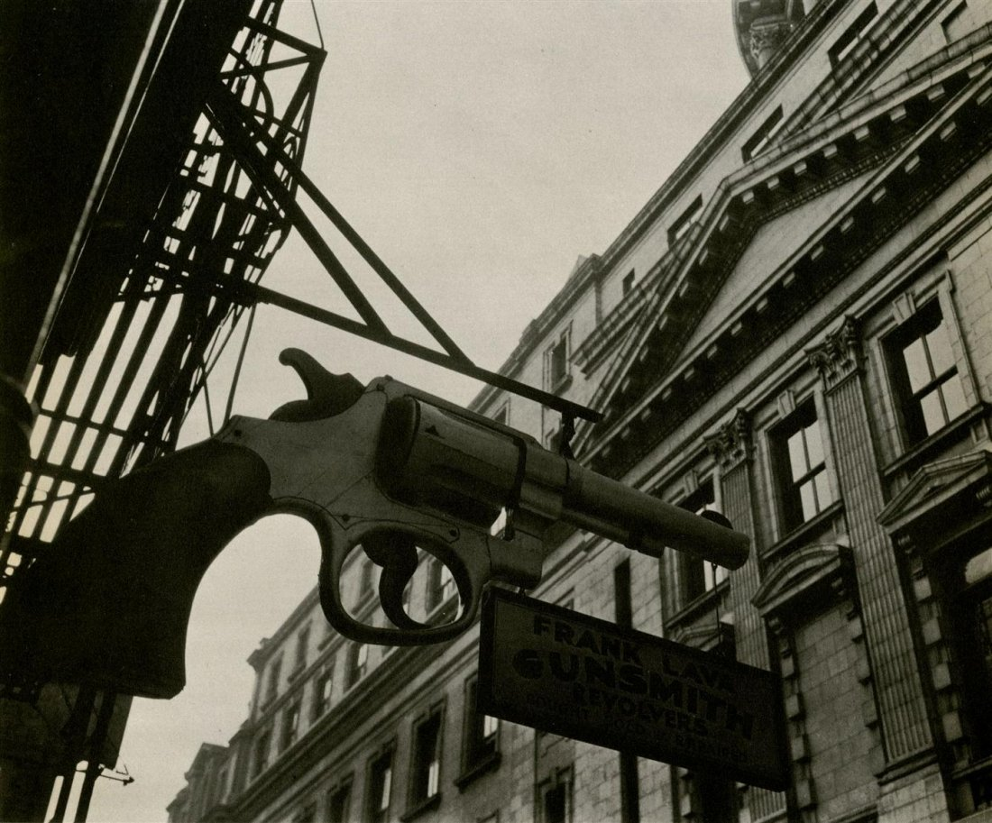 975: BERENICE ABBOTT - Original vintage photoengraving
