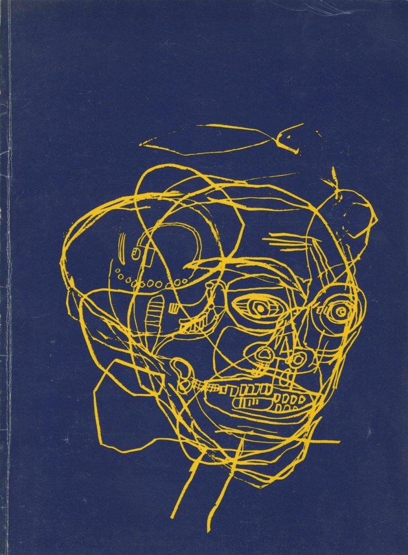 8: JEAN-MICHEL BASQUIAT - Color silkscreen (?) front