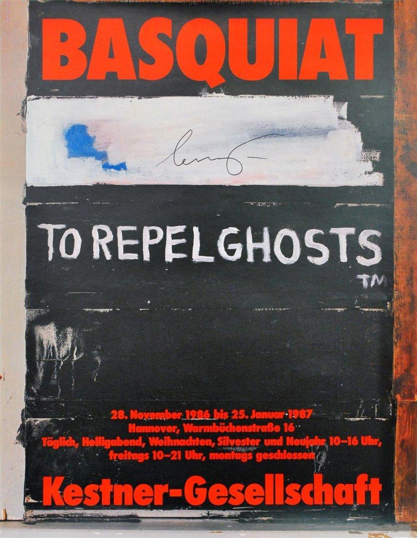 13: JEAN-MICHEL BASQUIAT - Color offset lithograph