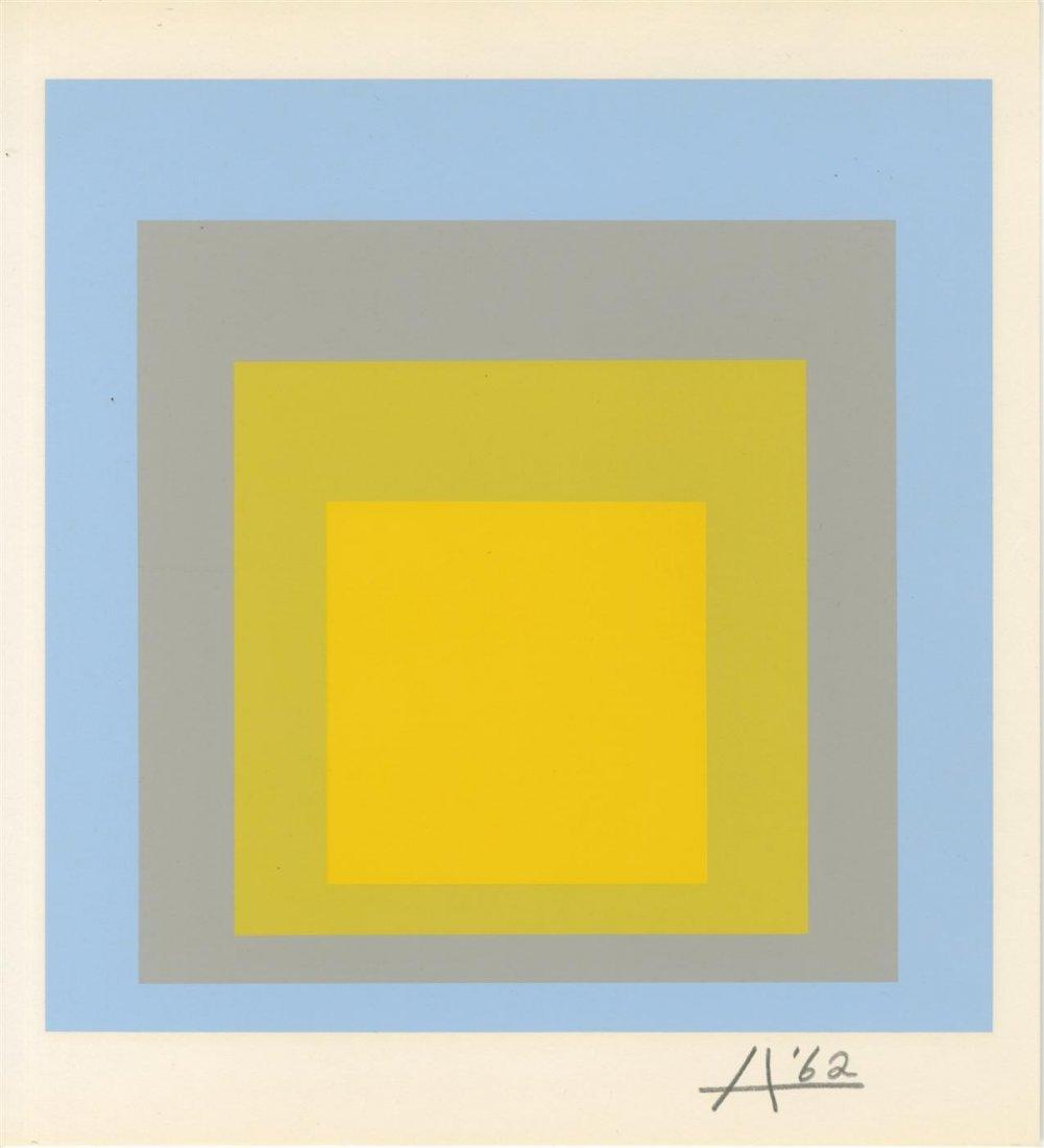399: JOSEF ALBERS - Original color silkscreen