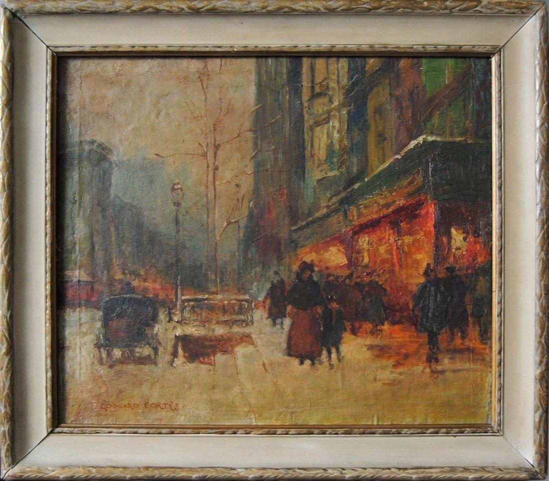 512: EDOUARD CORTES - Oil on canvas