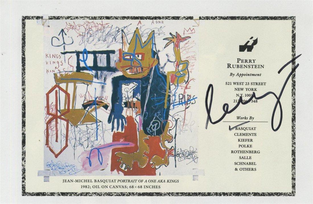 1006: JEAN-MICHEL BASQUIAT - Color offset lithograph