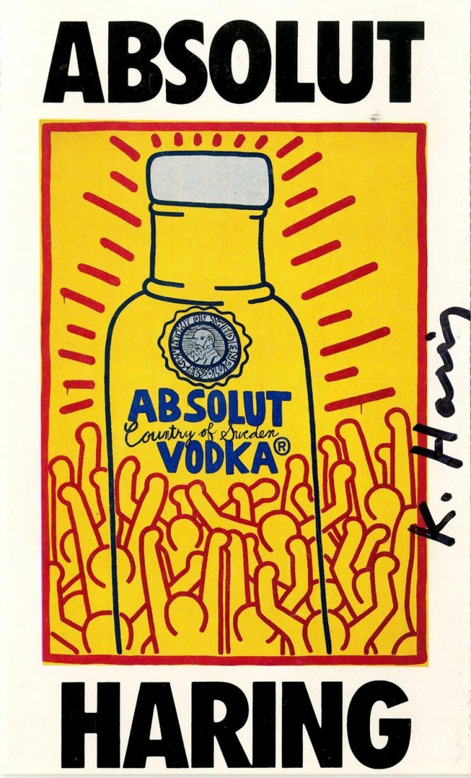 1009: KEITH HARING - Color offset lithograph