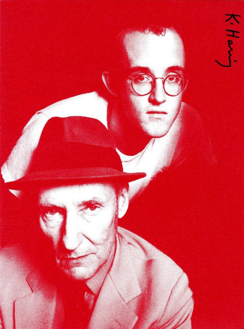 1010: KEITH HARING - Color offset lithograph