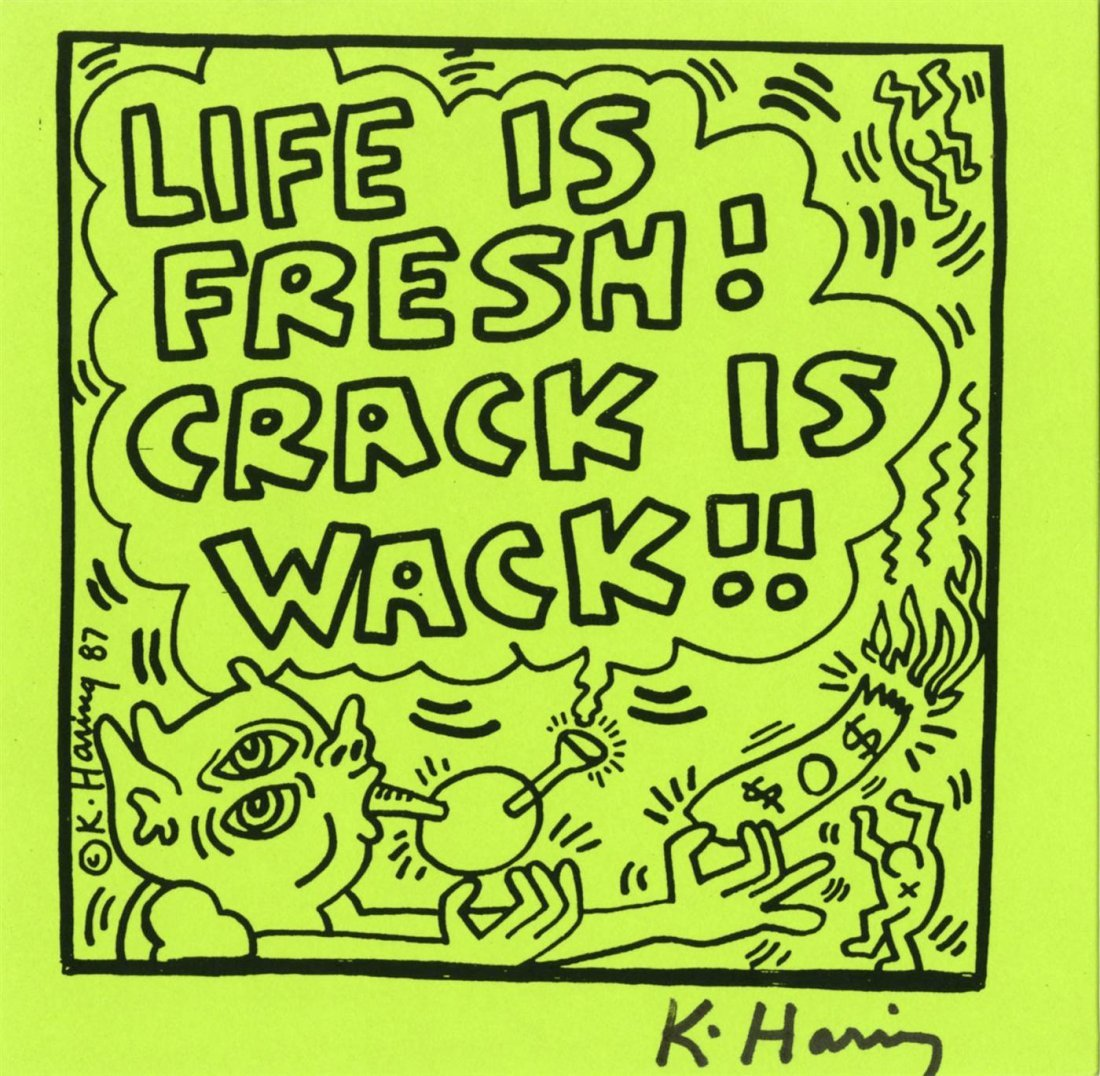 1019: KEITH HARING - Offset lithograph