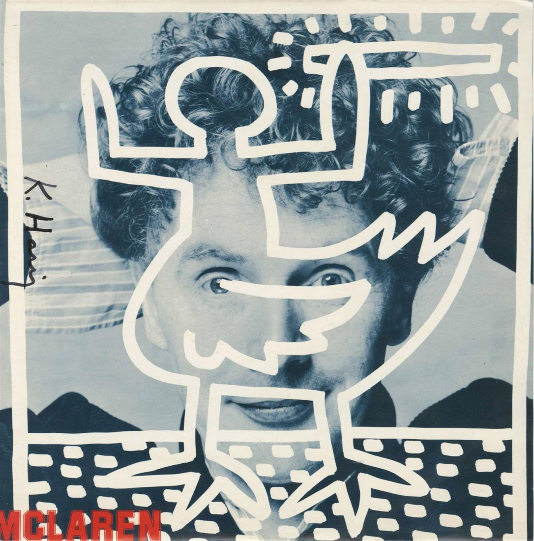 1020: KEITH HARING - Original color offset lithograph
