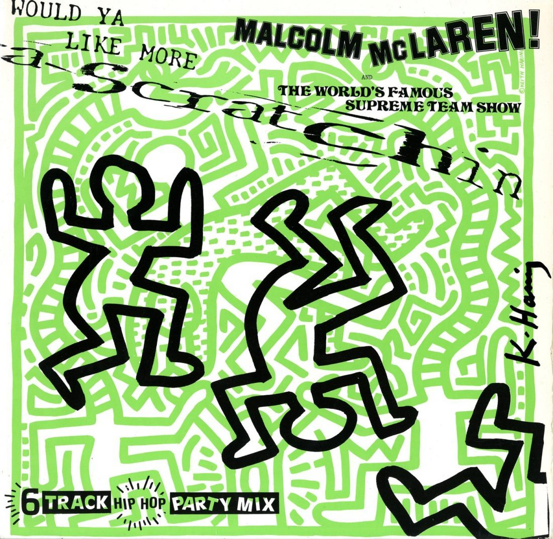 1021: KEITH HARING - Original color offset lithograph