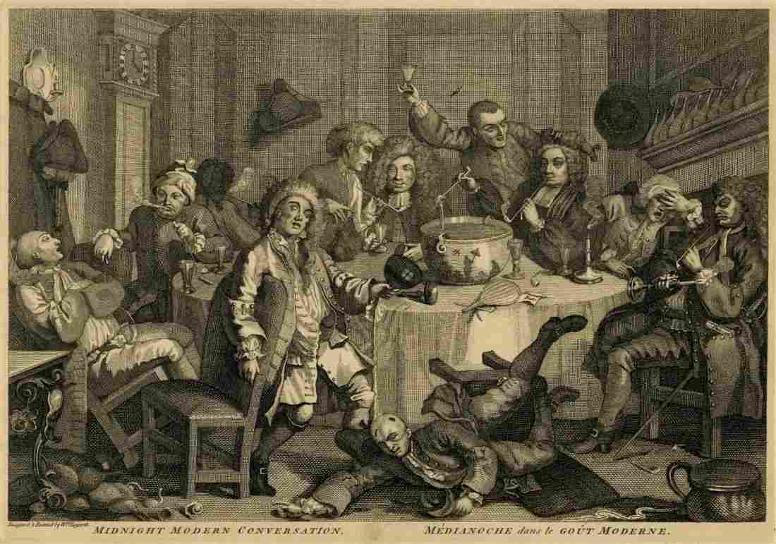 1952: WILLIAM HOGARTH [after] - Etching and engraving