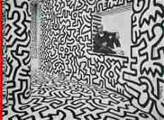 28 KEITH HARING  Color offset lithograph