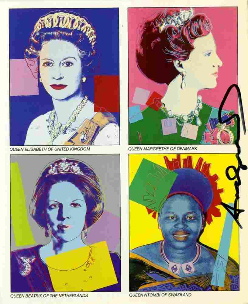 282: ANDY WARHOL - Color offset lithograph