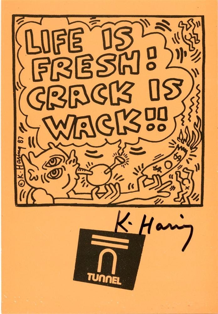 962: KEITH HARING - Offset lithograph