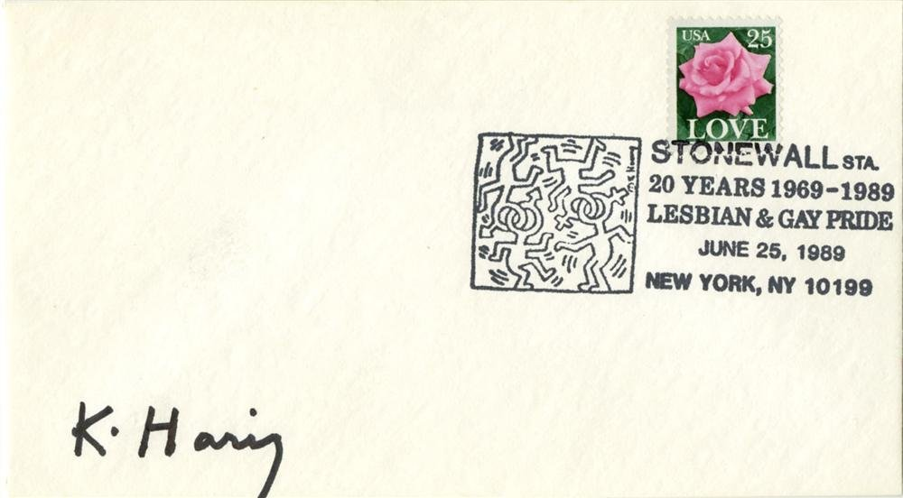 968: KEITH HARING - Offset lithograph