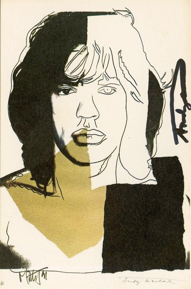 1157: ANDY WARHOL - Color offset lithograph