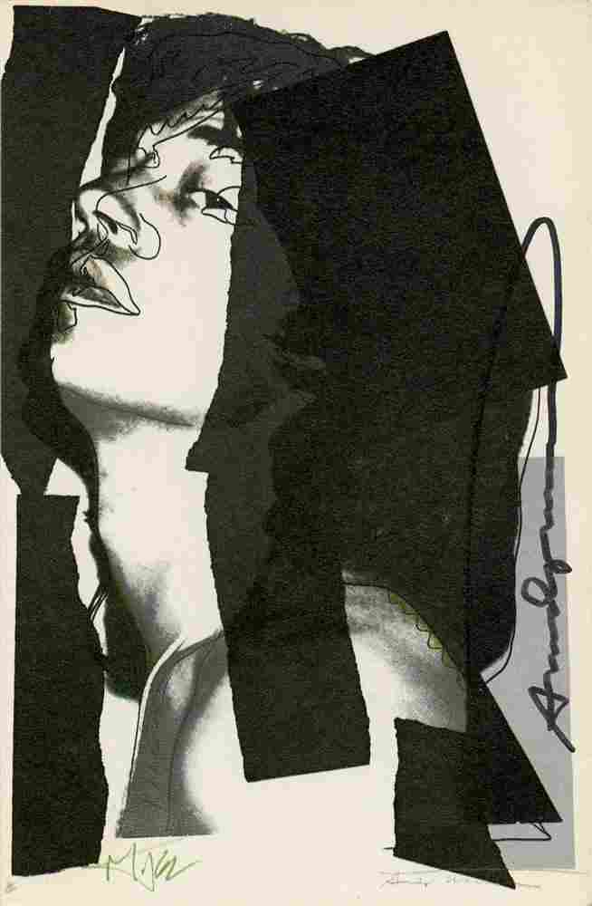 1165: ANDY WARHOL - Color offset lithograph