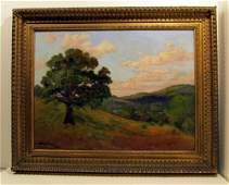 445: BRUCE CRANE - Oil on canvas