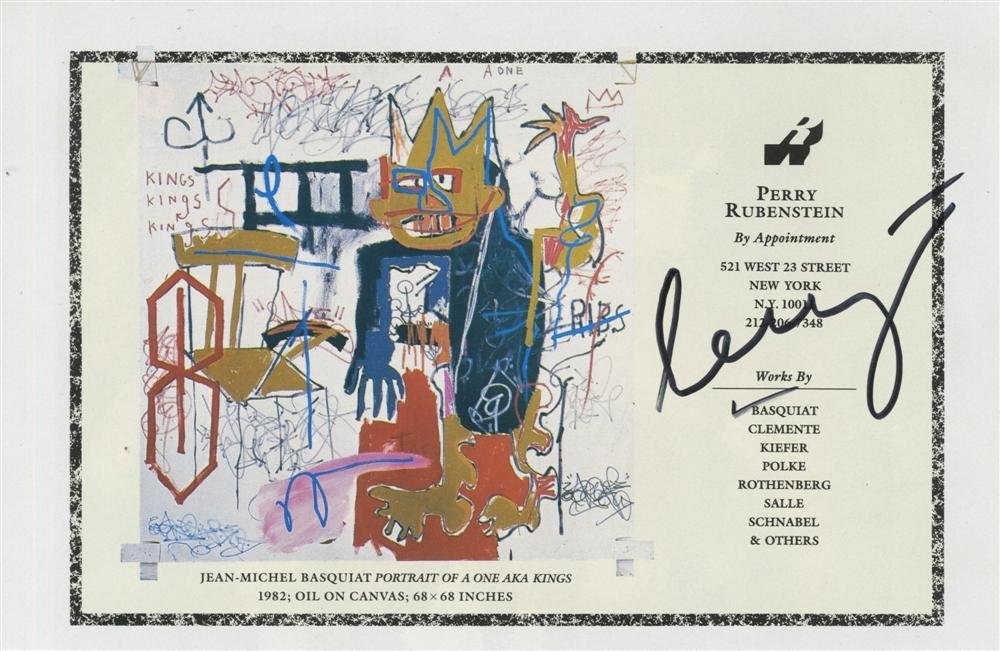 869: JEAN-MICHEL BASQUIAT - Color offset lithograph