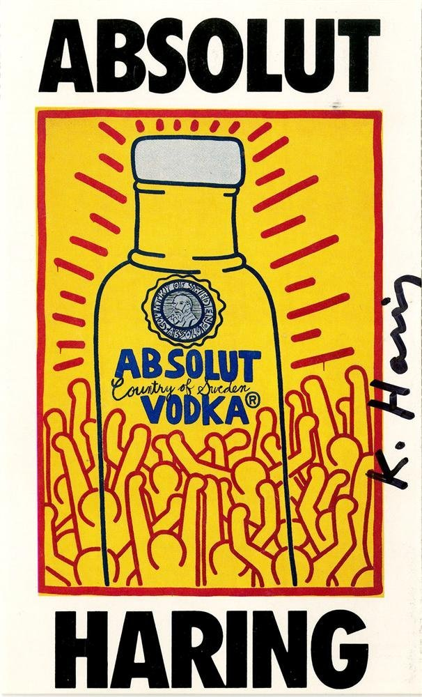 872: KEITH HARING - Color offset lithograph