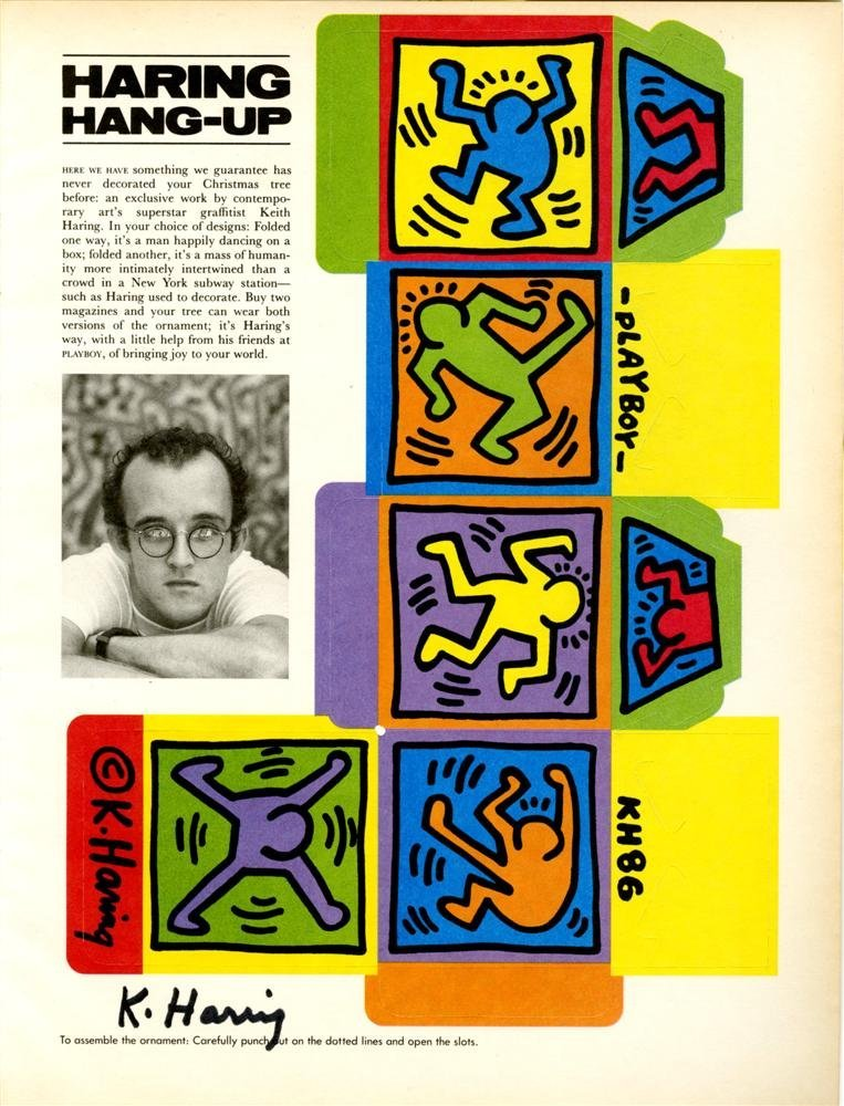 876: KEITH HARING - Color offset lithograph
