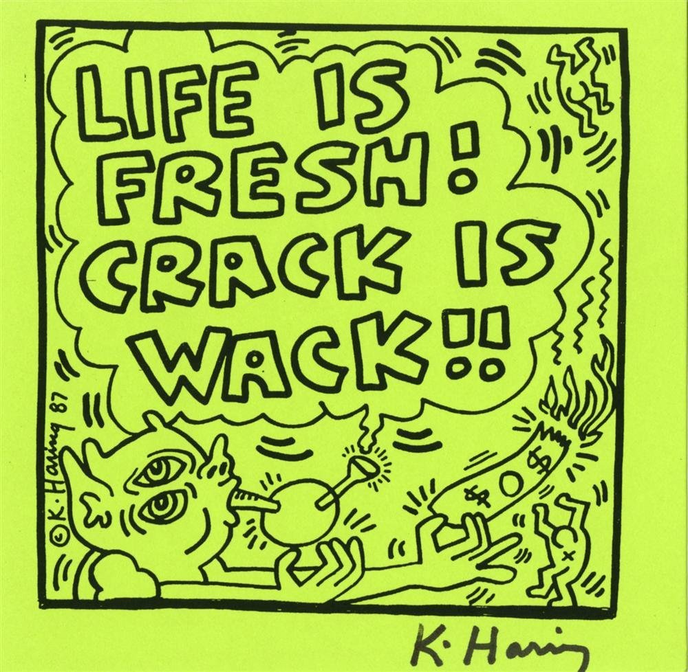 880: KEITH HARING - Offset lithograph