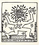884 KEITH HARING  Offset lithograph