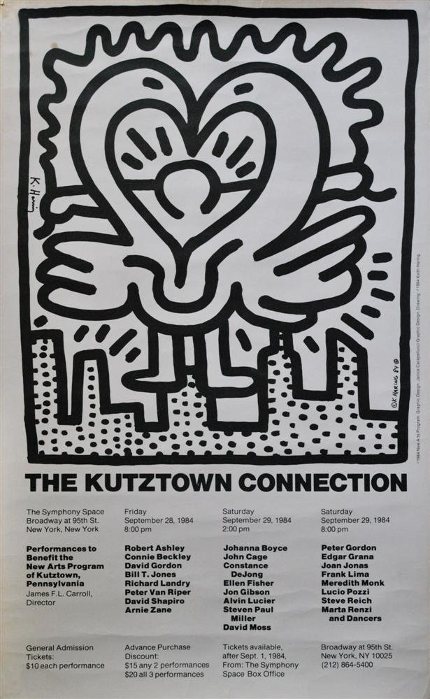 886: KEITH HARING - Offset lithograph