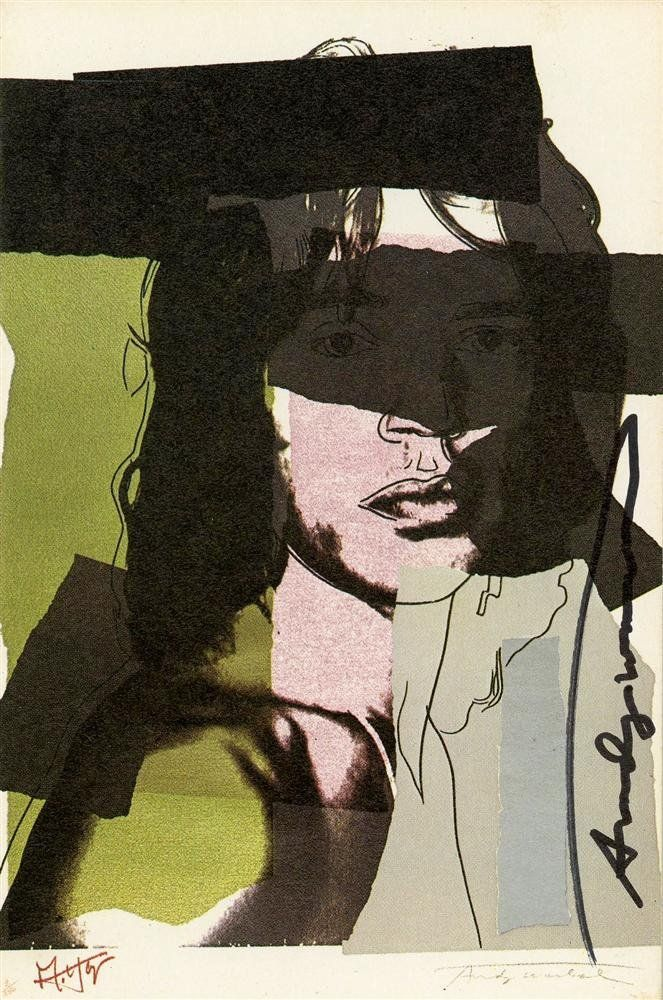 1075: ANDY WARHOL - Color offset lithograph