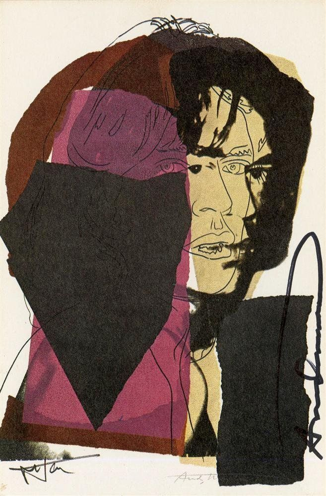1079: ANDY WARHOL - Color offset lithograph
