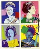 262 ANDY WARHOL  Color offset lithograph