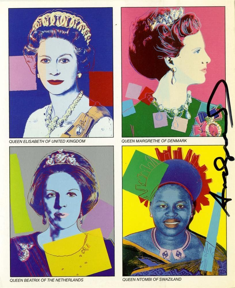 262: ANDY WARHOL - Color offset lithograph