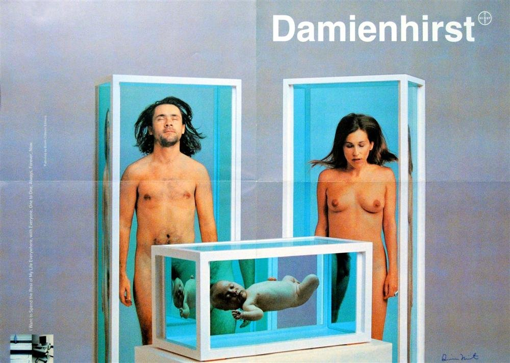 772: DAMIEN HIRST - Color offset lithograph