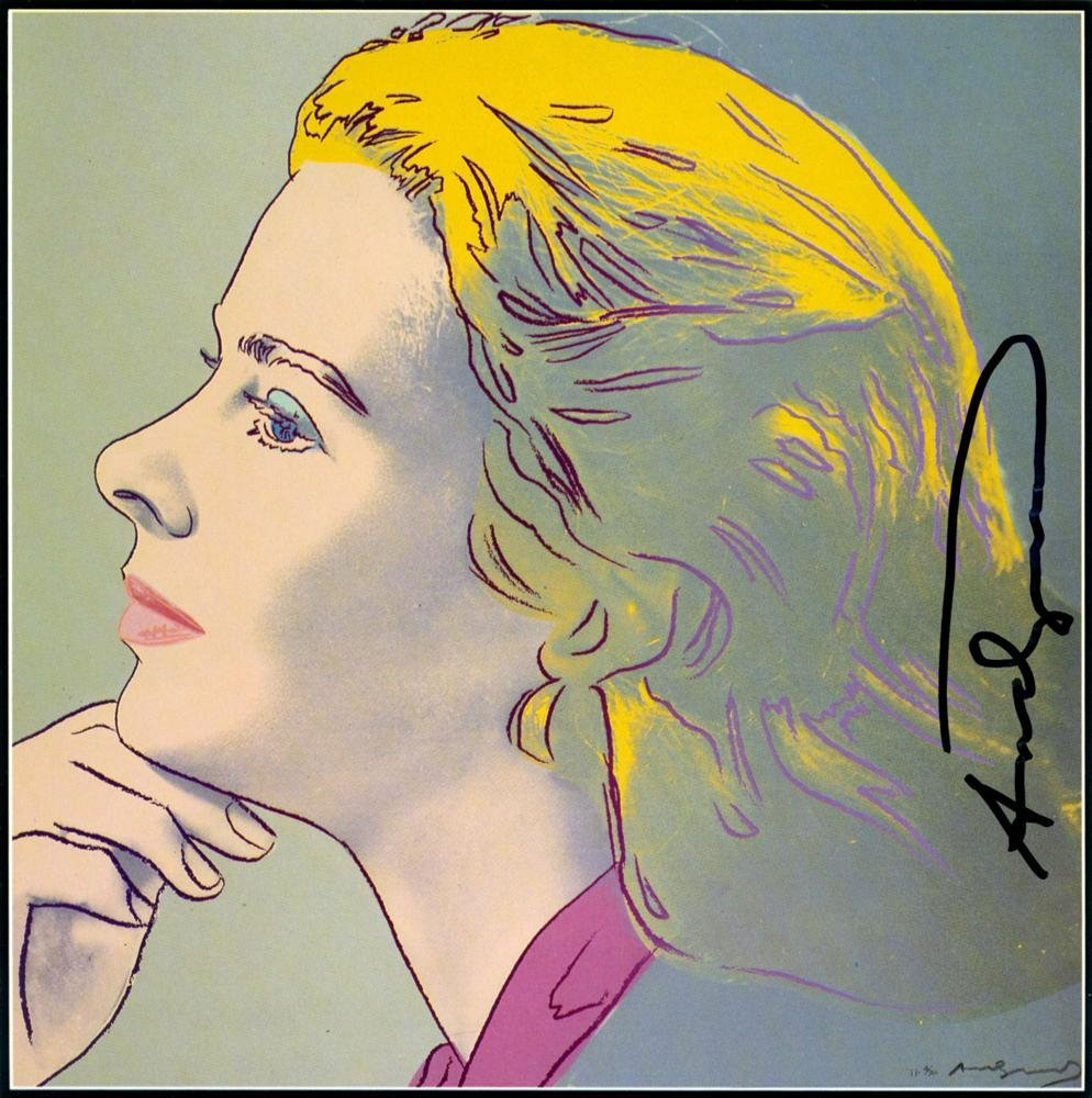900: ANDY WARHOL - Color offset lithograph