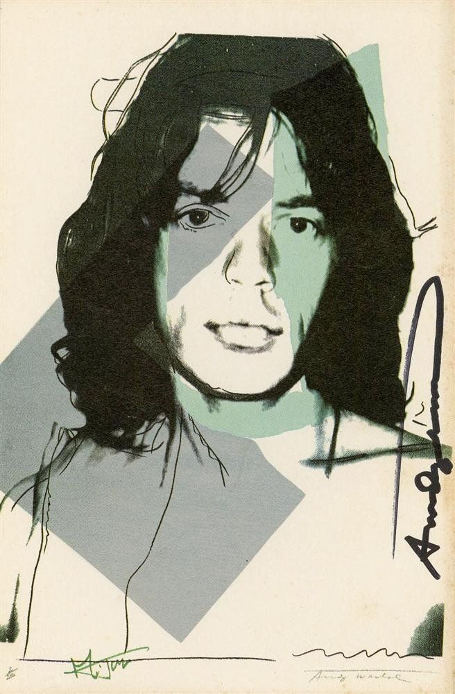 951: ANDY WARHOL - Color offset lithograph