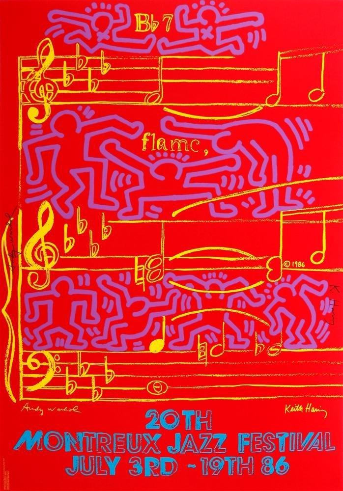4: ANDY WARHOL & KEITH HARING - Original color