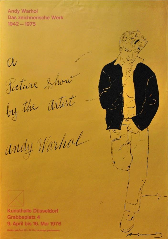 6: ANDY WARHOL - Original color offset lithograph