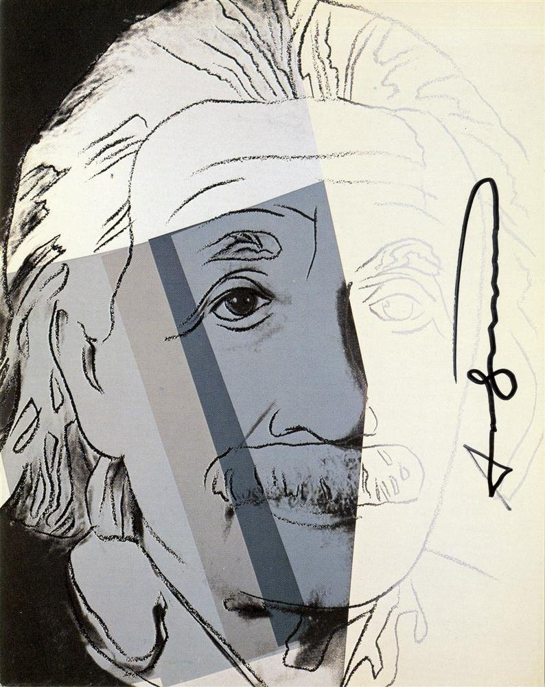 9: ANDY WARHOL - Color offset lithograph