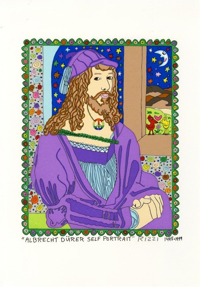 10: JAMES RIZZI - Color silkscreen and lithograph