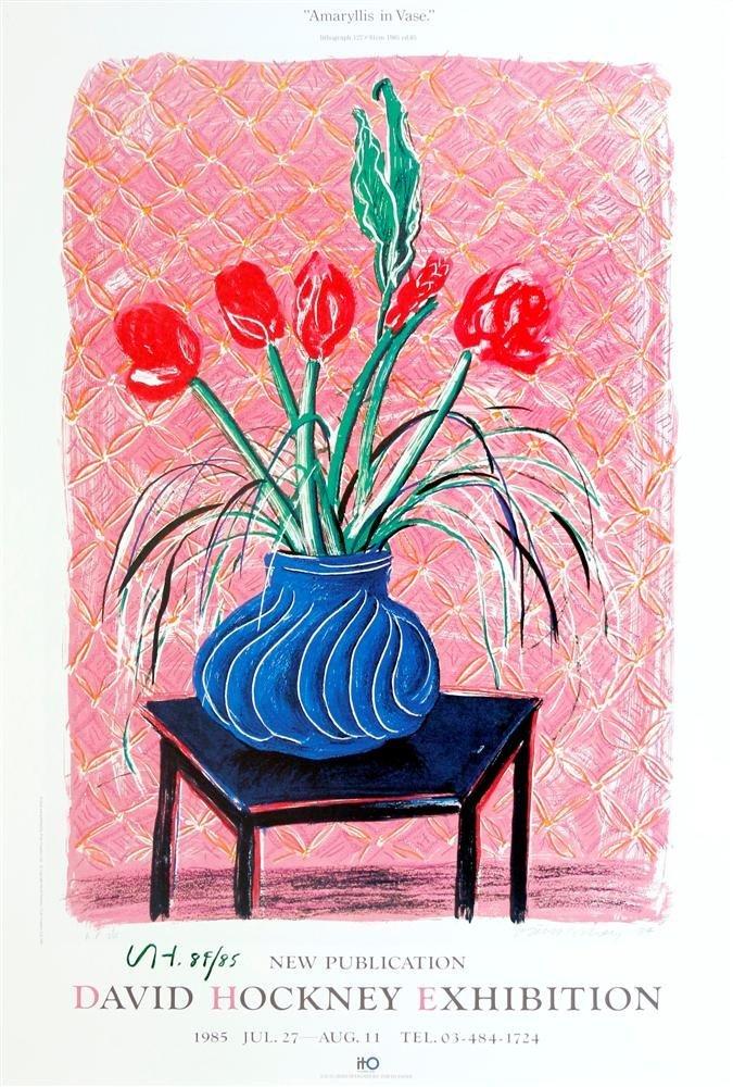 11: DAVID HOCKNEY - Color offset lithograph