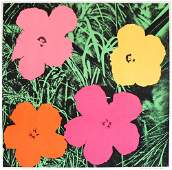 95 ANDY WARHOL  Color offset lithograph