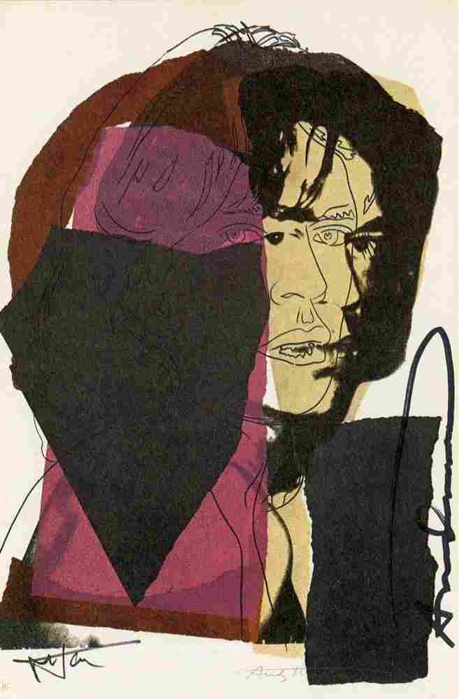 971: ANDY WARHOL - Color offset lithograph