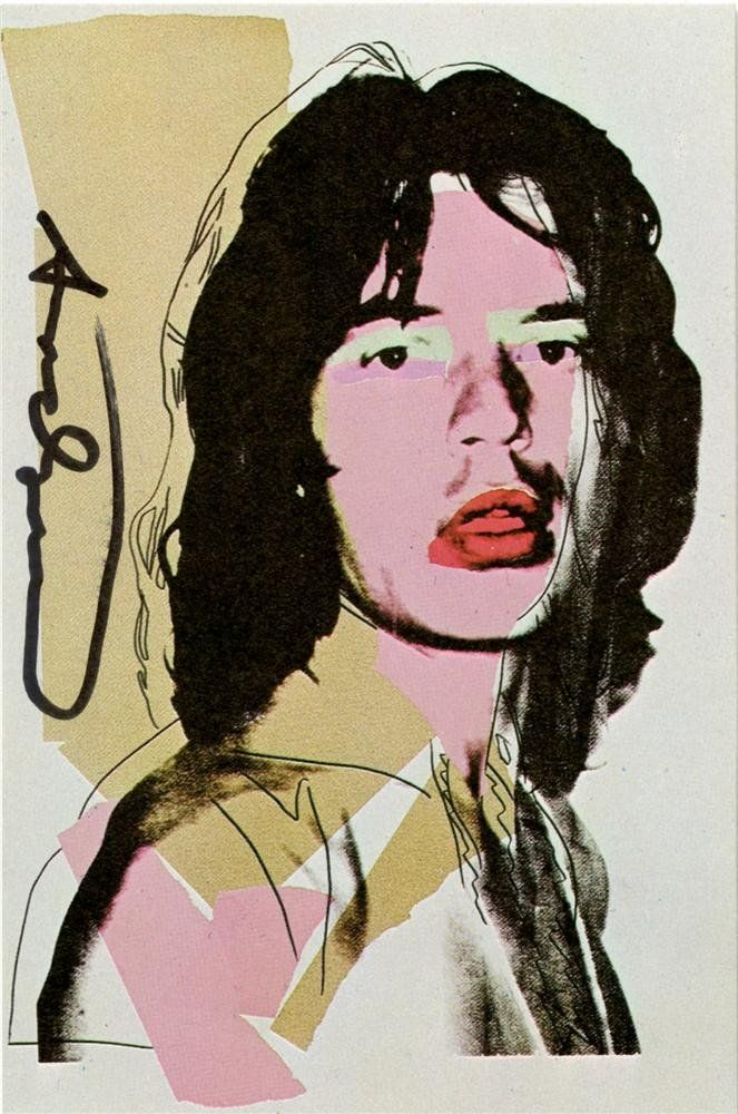 972: ANDY WARHOL - Color offset lithograph