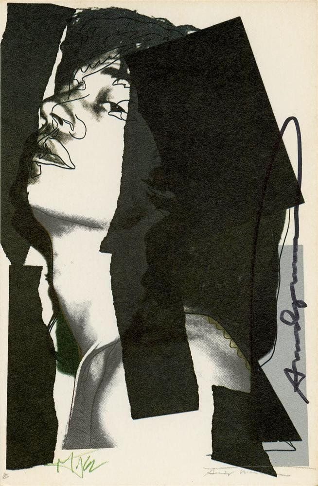 974: ANDY WARHOL - Color offset lithograph