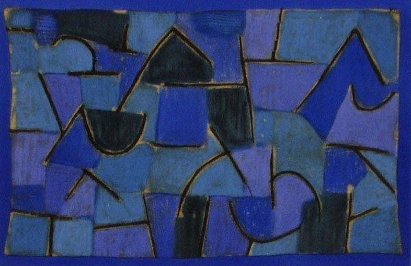 "46: PAUL KLEE - Blue Night [""Nuit Bleu""]"