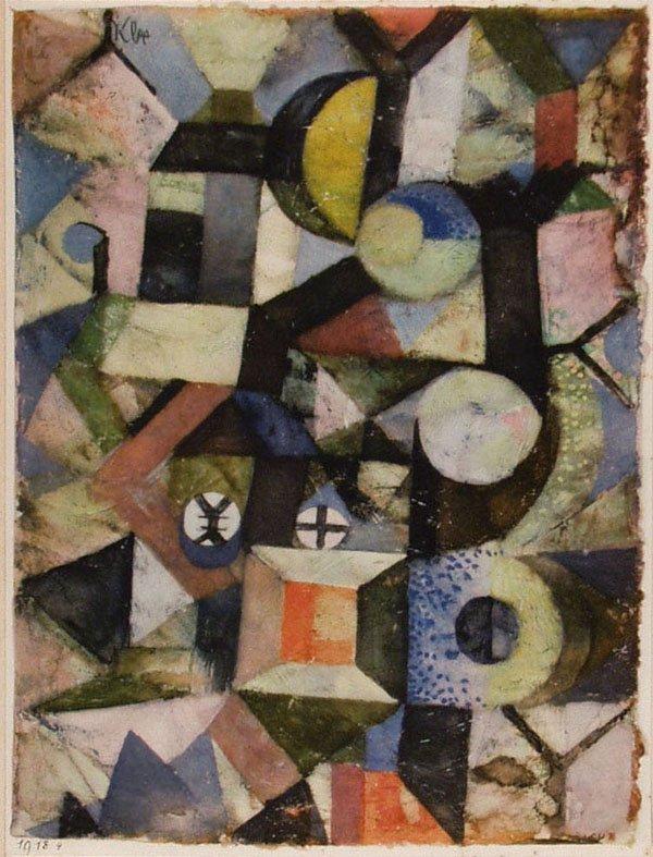 89: PAUL KLEE - Composition