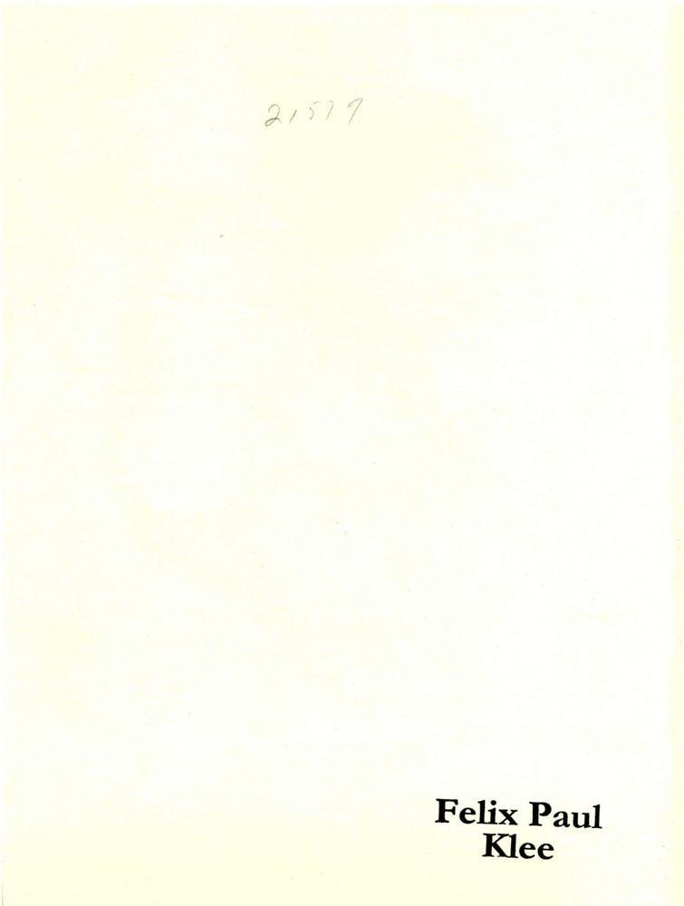 89: PAUL KLEE - Composition - 2