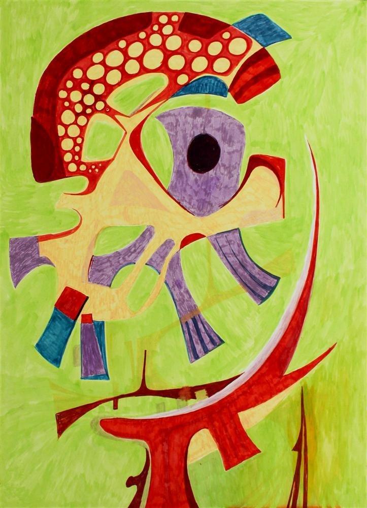 603: PEDRO CORONEL - Abstraction 'B'