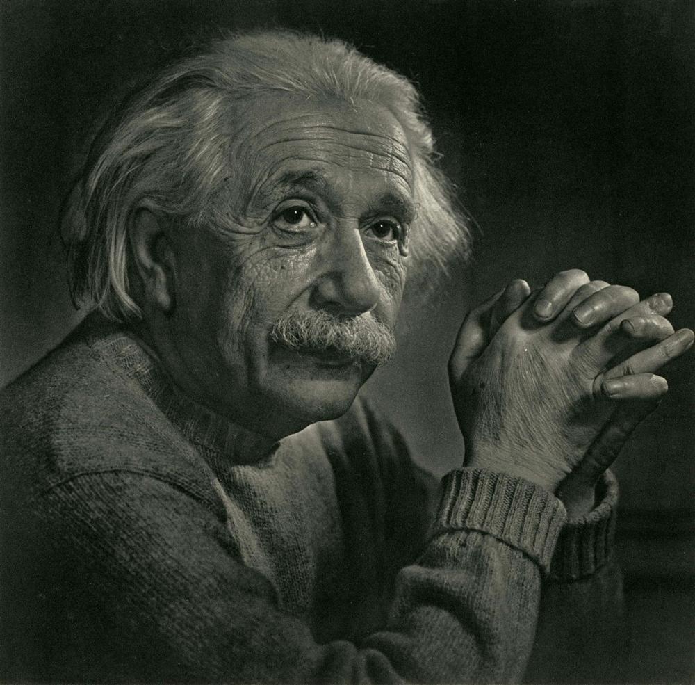 607: YOUSUF KARSH - Albert Einstein
