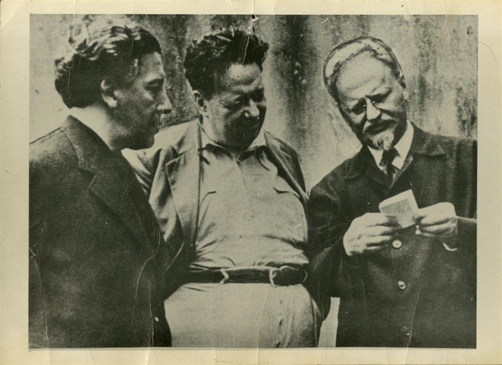 617: FRITZ BACH - Andre Breton, Diego Rivera, Leon